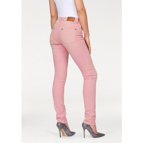 ARIZONA Skinny-jeans in dusty pastel-look