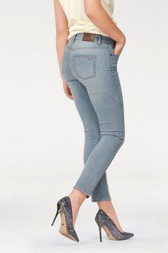 arizona high-waist-jeans 7-8-slimfit blauw