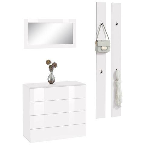 Complete garderobes Halmeubelset Rova 3-delig 739542