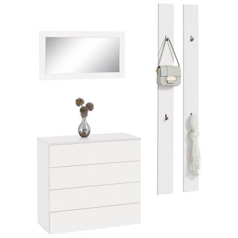 Complete garderobes Halmeubelset Rova 3-delig 828625