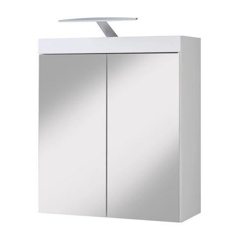 kast Aqua witte badkamer spiegelkast 74