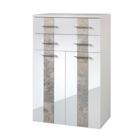 Badkamerkasten Midi kabinet Stone 863497