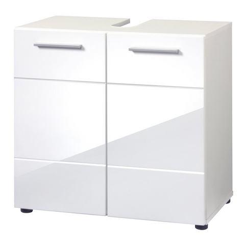 Wasbakonderkast »Aqua« witte badkamer onderkast 220