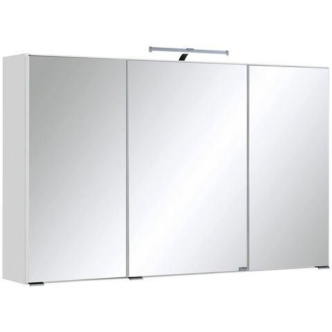 HELD MÖBEL kast Texas witte badkamer spiegelkast 53