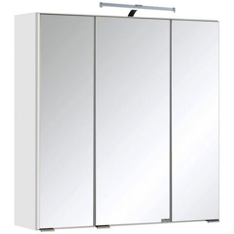 HELD MÖBEL kast Texas witte badkamer spiegelkast 55