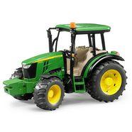 bruder speelgoed-tractor john deere 5115m made in germany groen