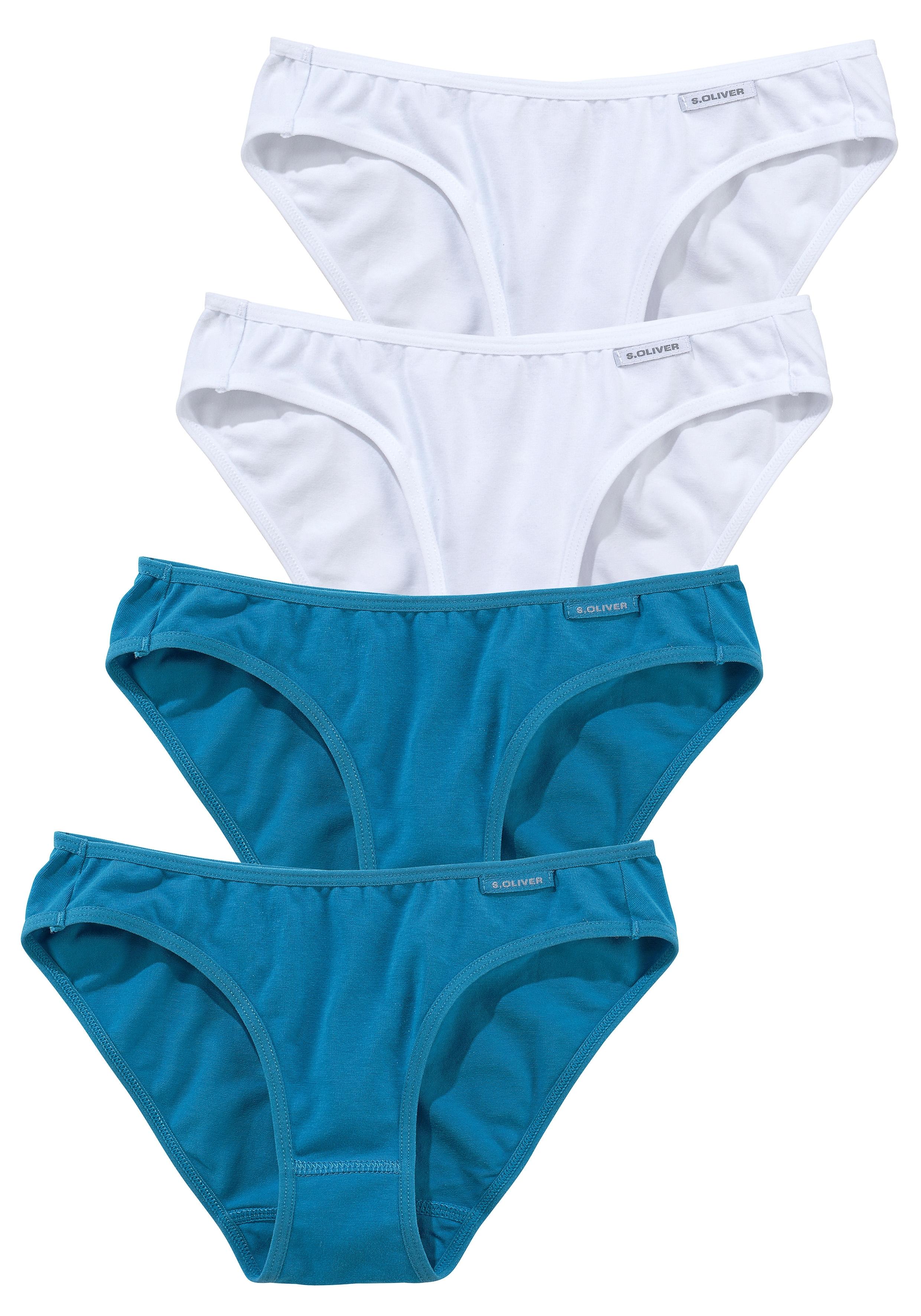 s.Oliver RED LABEL Bikinislip, set van 4 bij OTTO online kopen