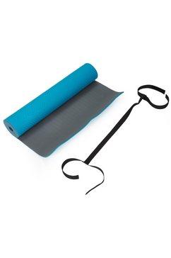 schmidt sports deuser yogamat met draagband blauw