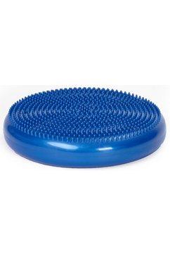 schmidt sports deuser balanskussen met genopte kant blauw