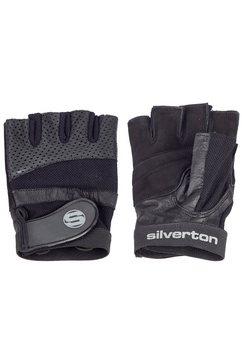silverton »pro plus« trainingshandschoenen zwart