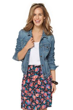 Jeans-jack in used-wassing