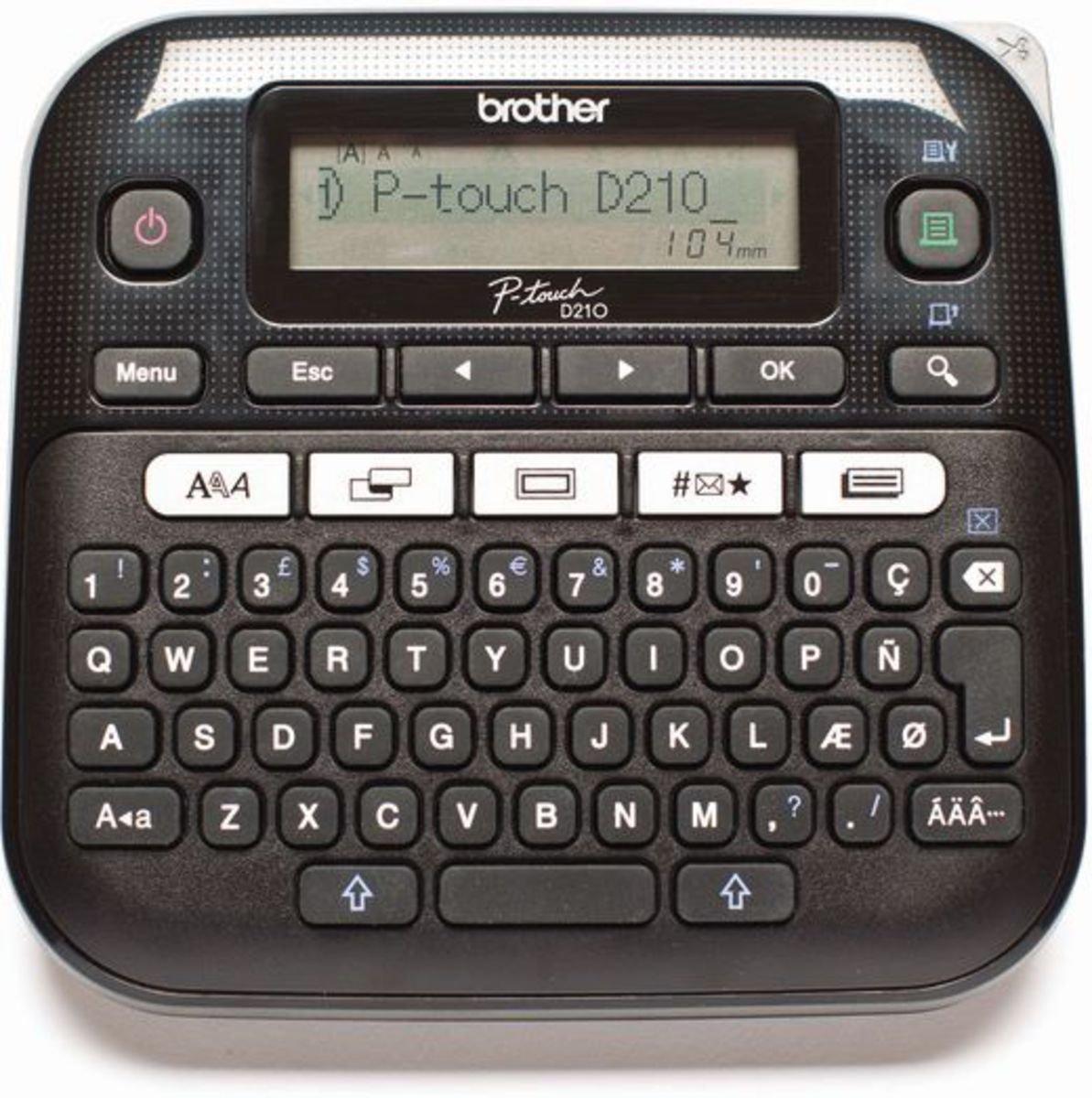 Brother labelprinter »P-touch D210 Desktop« online kopen op otto.nl