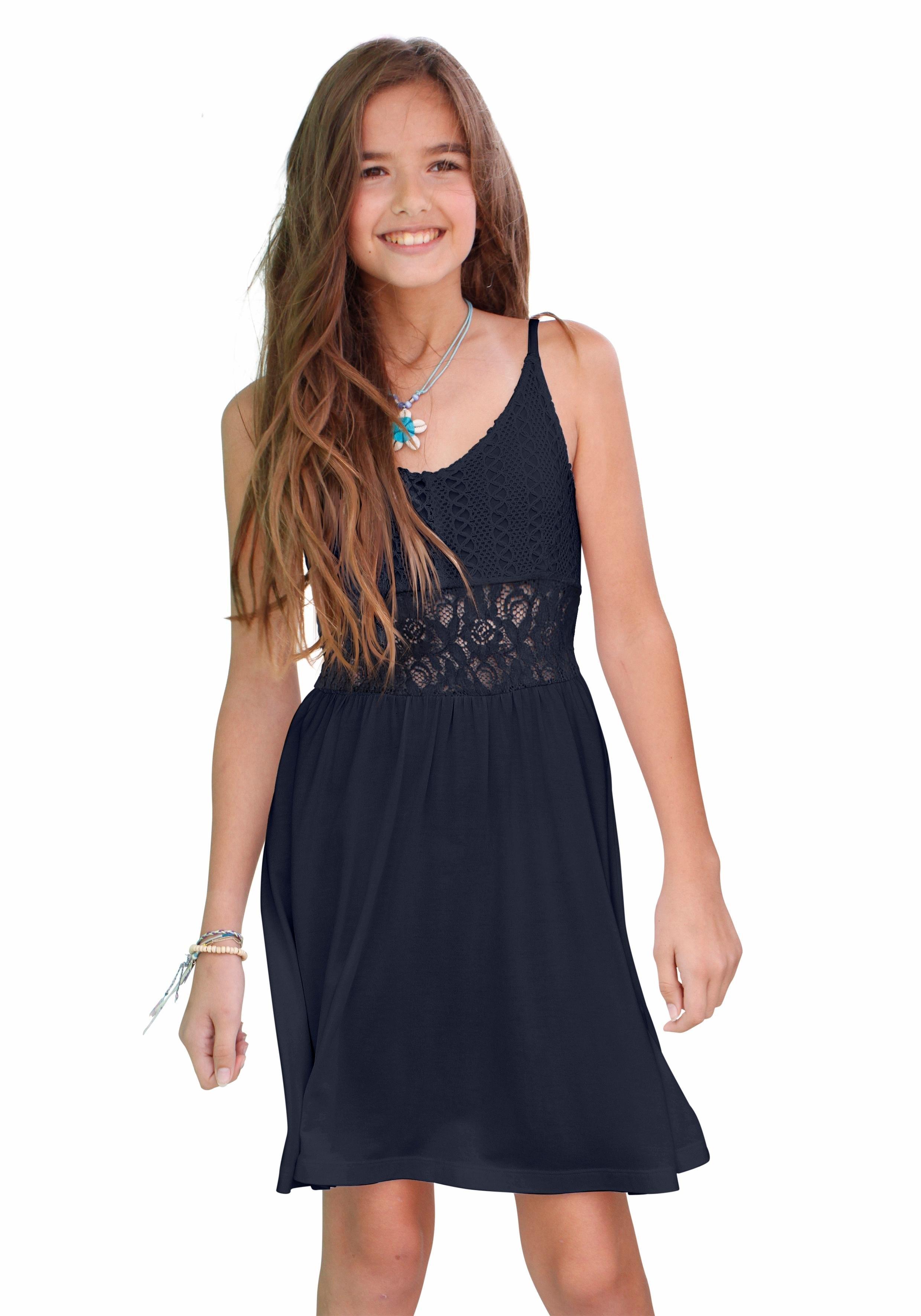 0bda84c3723d61 ARIZONA Meisjes-jurk met kanten inzet nu online kopen
