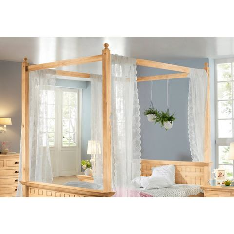 HOME AFFAIRE bedhemel »Claudia« geloogd/geolied beige Home Affaire 545338