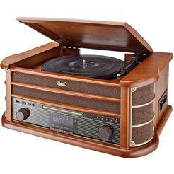 dual platenspeler »nr 50 nostalgie« bruin