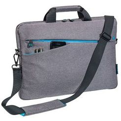 "pedea notebooktas »notebooktasche ""fashion"" 39,6 cm (15,6"")« grijs"