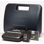 brother labelprinter »p-touch d210vp desktop beschriftungsgeraet« zwart