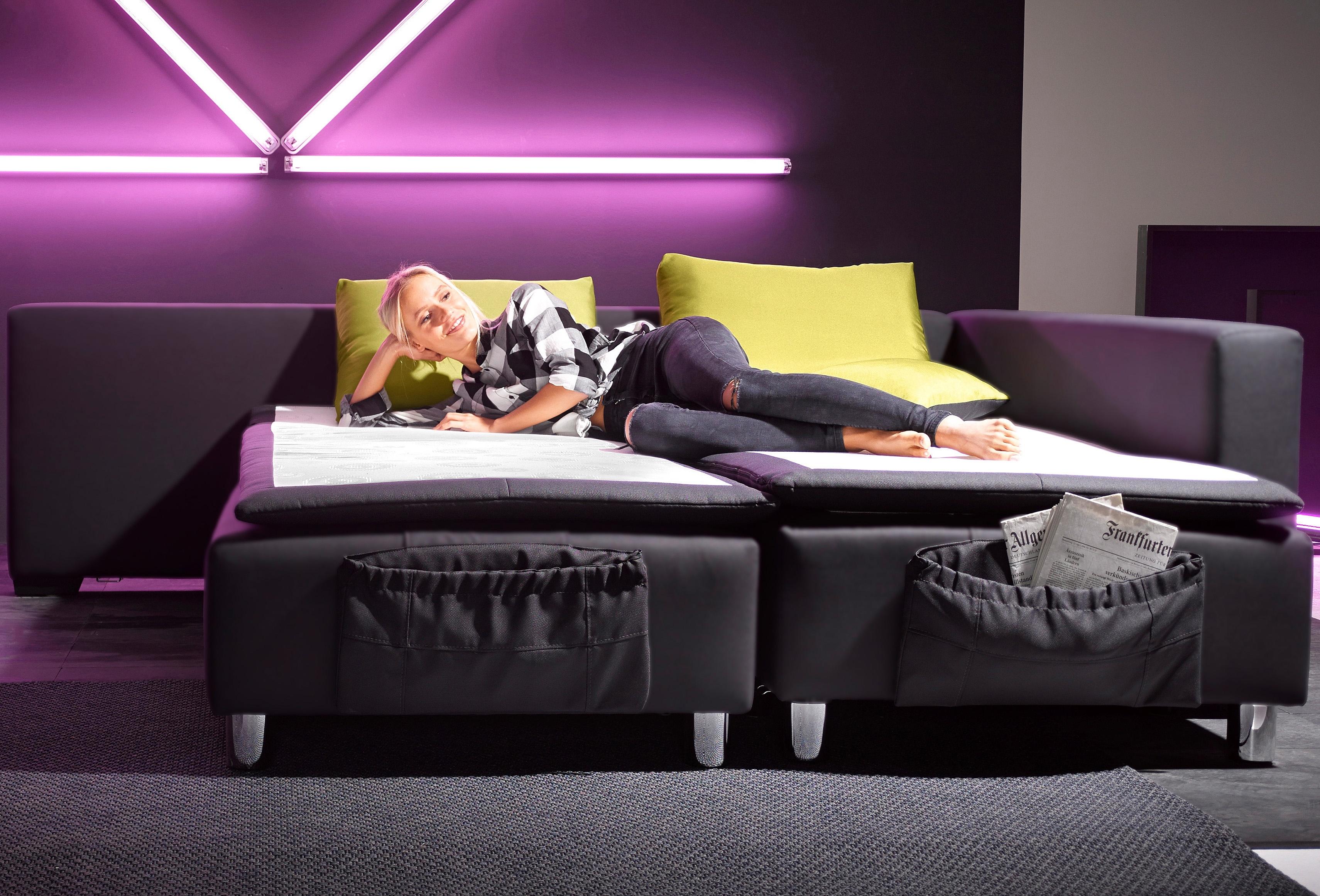 Inosign hoekbank met volwaardige slaapfunctie nu online kopen bij OTTO