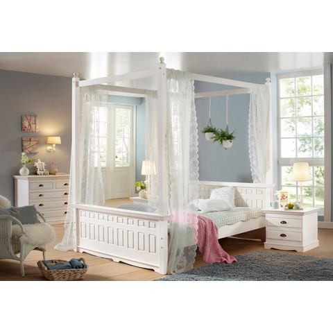 HOME AFFAIRE bedhemel »Claudia« wit wit Home Affaire 798992