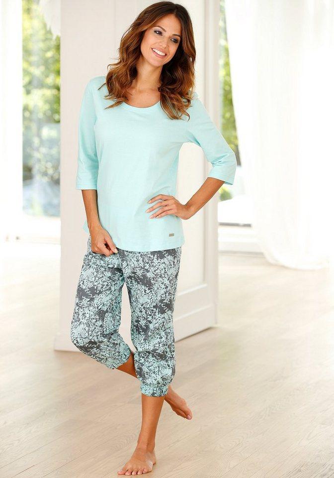BUFFALO Capri-pyjama van puur katoen