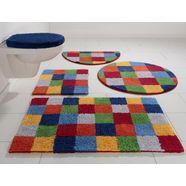 badmat »kira«, home affaire, hoogte 12 mm multicolor