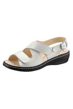 sandalen met klittenbandsluiting wit