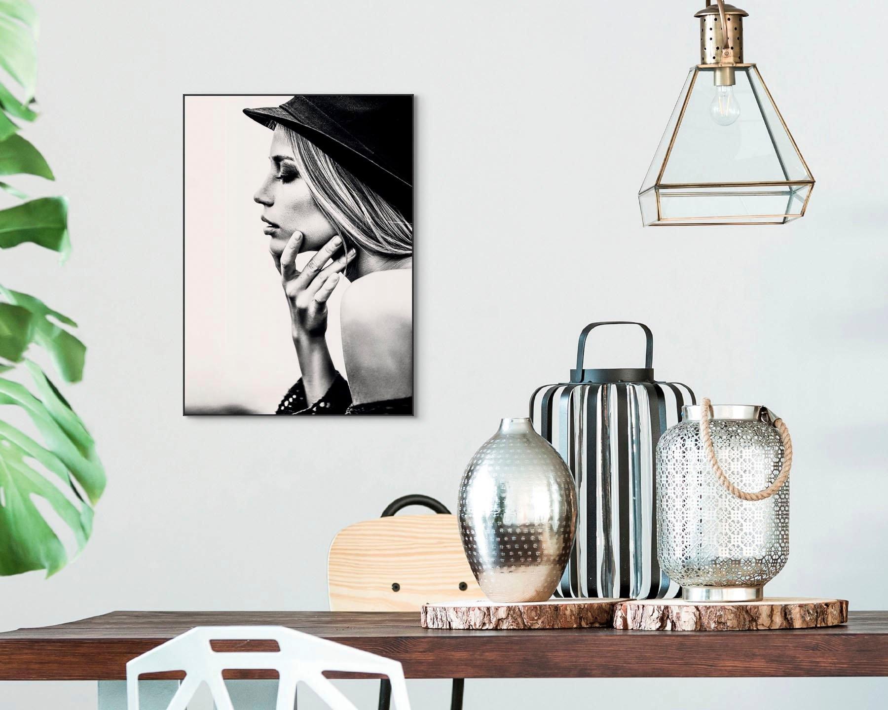Op zoek naar een Reinders! artprint Slim Frame Black 50x70 Female Profile? Koop online bij OTTO