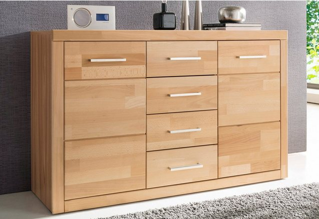 sideboard breedte 130 cm online bij otto. Black Bedroom Furniture Sets. Home Design Ideas