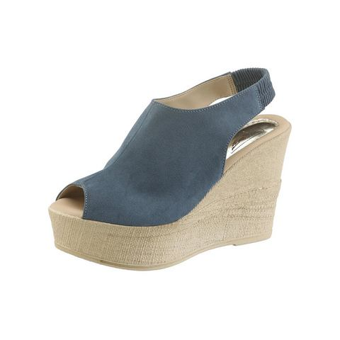 Dames schoen: ARIZONA sleehaksandaaltjes met hoge hak