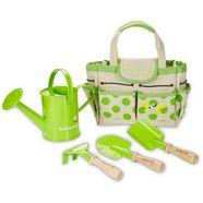 everearth 5-dlg. tuinset voor kinderen, »tuintas met gereedschap« groen