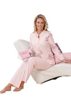 ringella pyjama van puur katoen roze