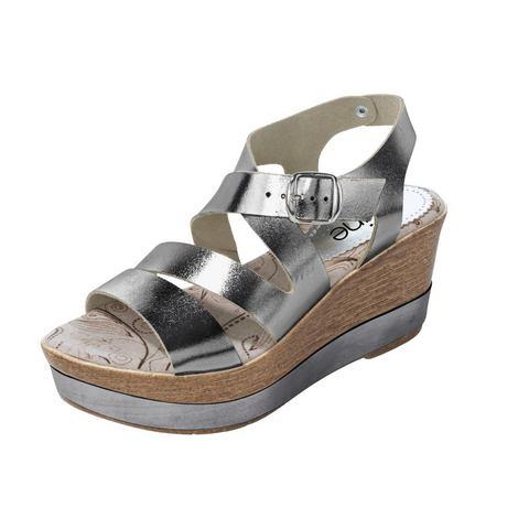 Dames schoen: Sandaaltjes met sleehak
