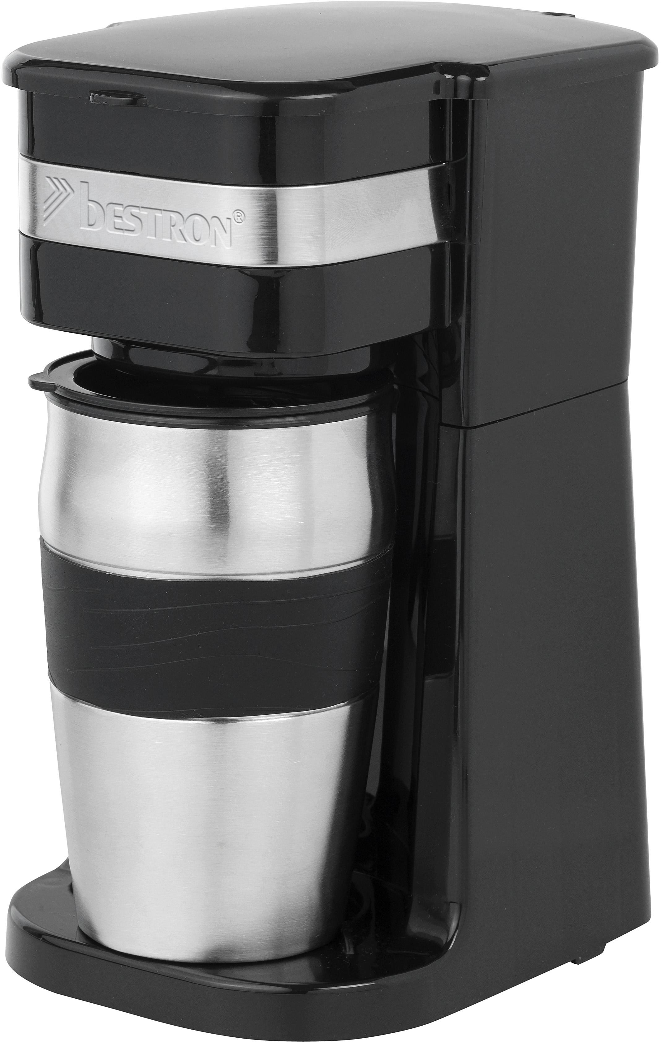 Bestron Koffiezetapparaat ACM111Z, met thermoskan, zwart - verschillende betaalmethodes