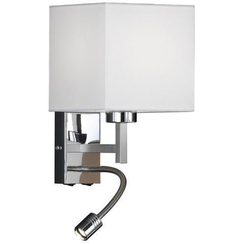 HONSEL LEUCHTEN LED-wandlamp Mainz 2 fittingen