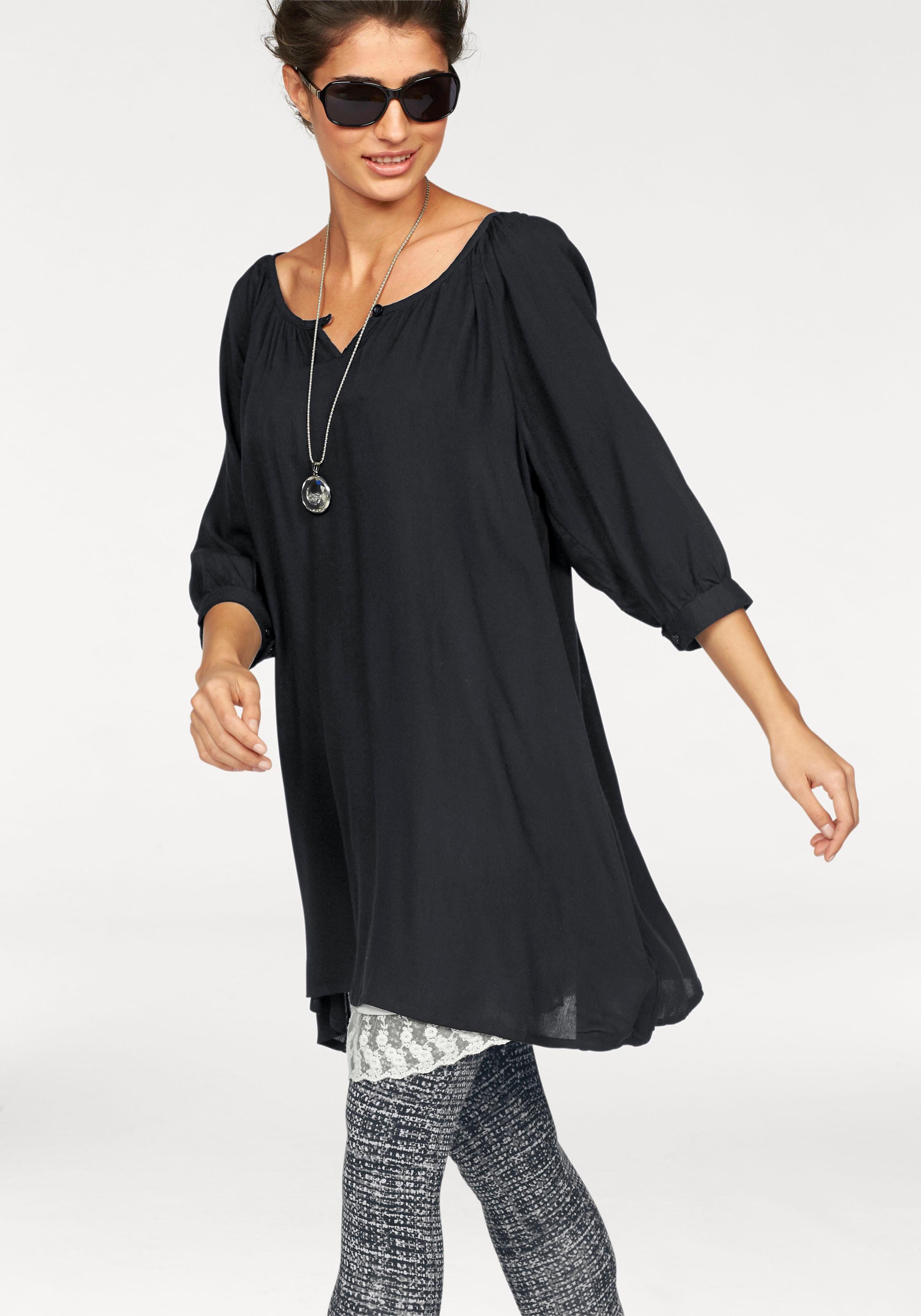 Op zoek naar een BOYSEN'S Lange blouse met ronde hals? Koop online bij OTTO