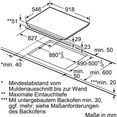 neff flex-inductiekookplaat met twistpad flat-bediening ttt 5960 n - t59tt60n0 zilver