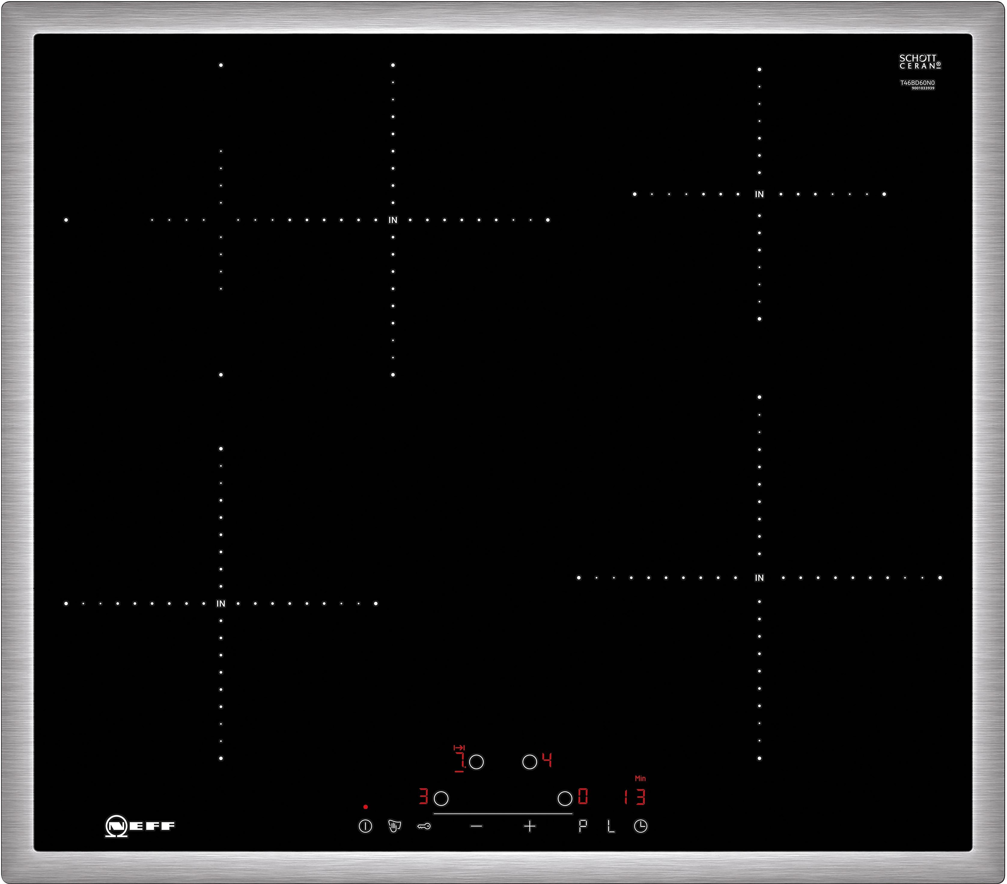 Neff inductiekookplaat met TouchControl-bediening TBD 4660 N N / T46BD60N0 nu online bestellen