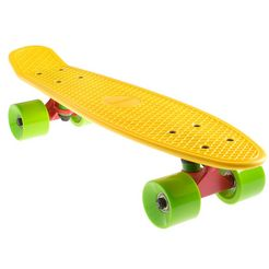 sportplus ezy! mini cruiser, mini-skateboard, »yellow sp-sb-305« geel