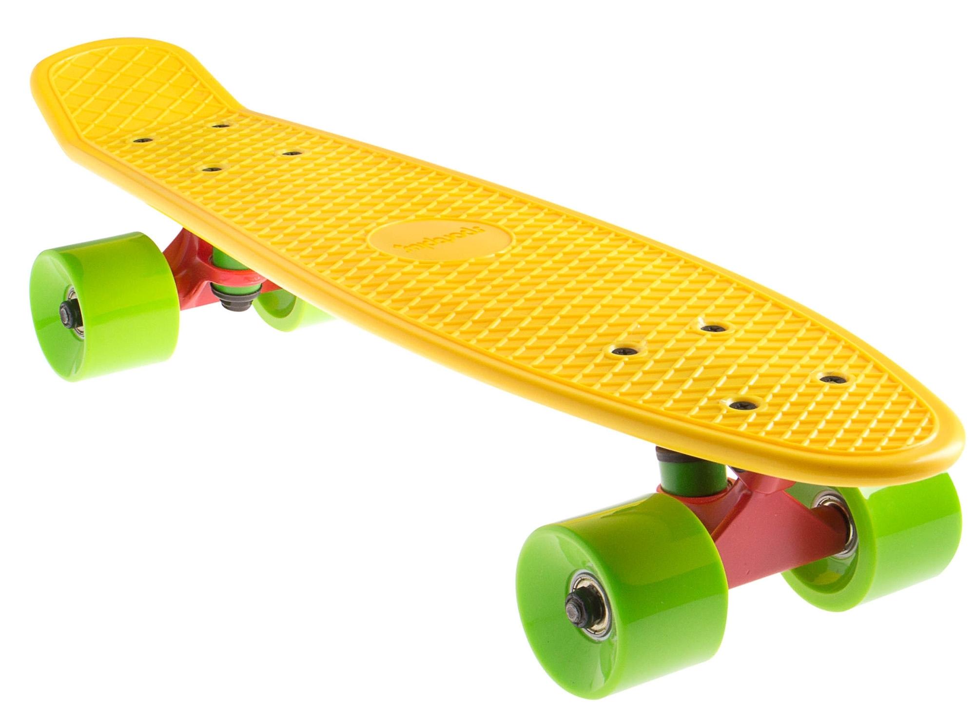 sportplus ezy mini cruiser mini skateboard yellow sp sb 305 online kopen otto. Black Bedroom Furniture Sets. Home Design Ideas