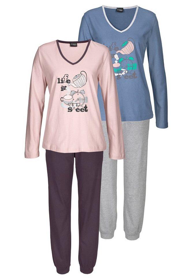 VIVANCE DREAMS 2-delige pyjama met print