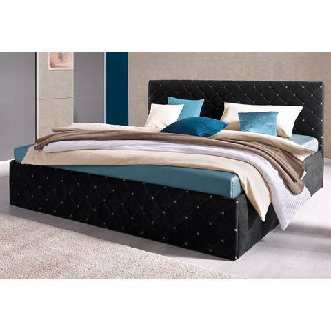 WESTFALIA POLSTERBETTEN Bed in 4 breedten 7 zones koudschuim hardheid 2 zwart Westfalia Polsterbetten 681709