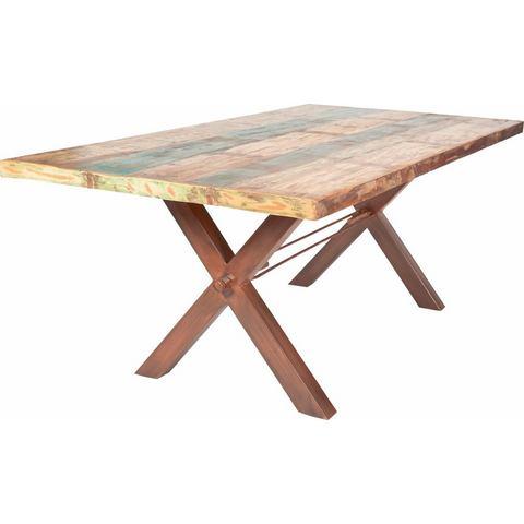 Eettafels SIT Eettafel Tops van gerecycled gebruikt hout 334481