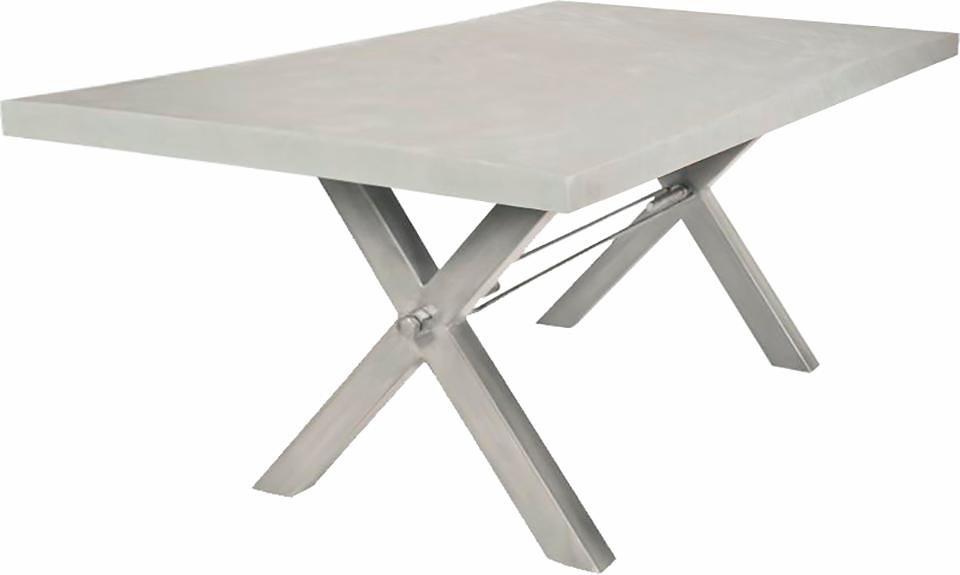 SIT eettafel Tops, met tafelblad van cement