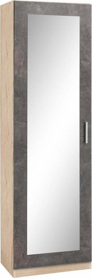 Garderobekast Meran, met spiegel