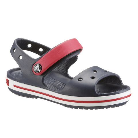 Crocs Slippers navy/red