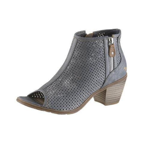 Dames schoen: MUSTANG Laarsjes met peeptoe