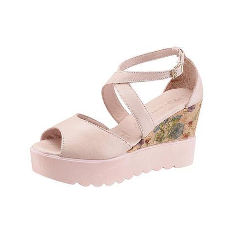 Dames schoen: TAMARIS sleehaksandaaltjes