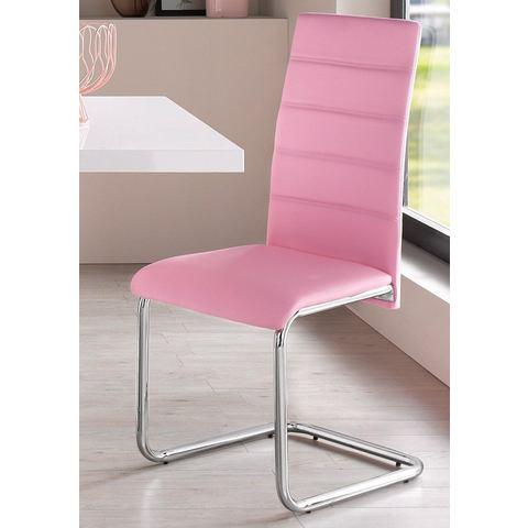 Eetkamerstoelen Vrijdragende stoel (set van 2 of set van 4) 374621
