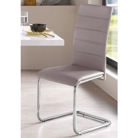 Vrijdragende stoel (set van 2 of set van 4)