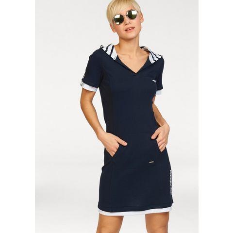 Picture KANGAROOS Sweat-jurk met capuchon blauw 833740